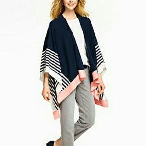 Stripe Colorblock Wrap